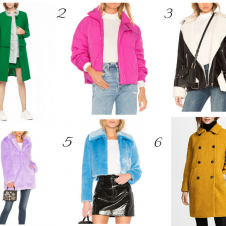 Colorful Coats I'm Coveting