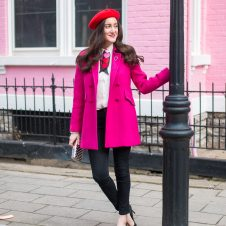 A Feminine Pink and Red Outfit + A Galentine's Day Event with Kate Spade!