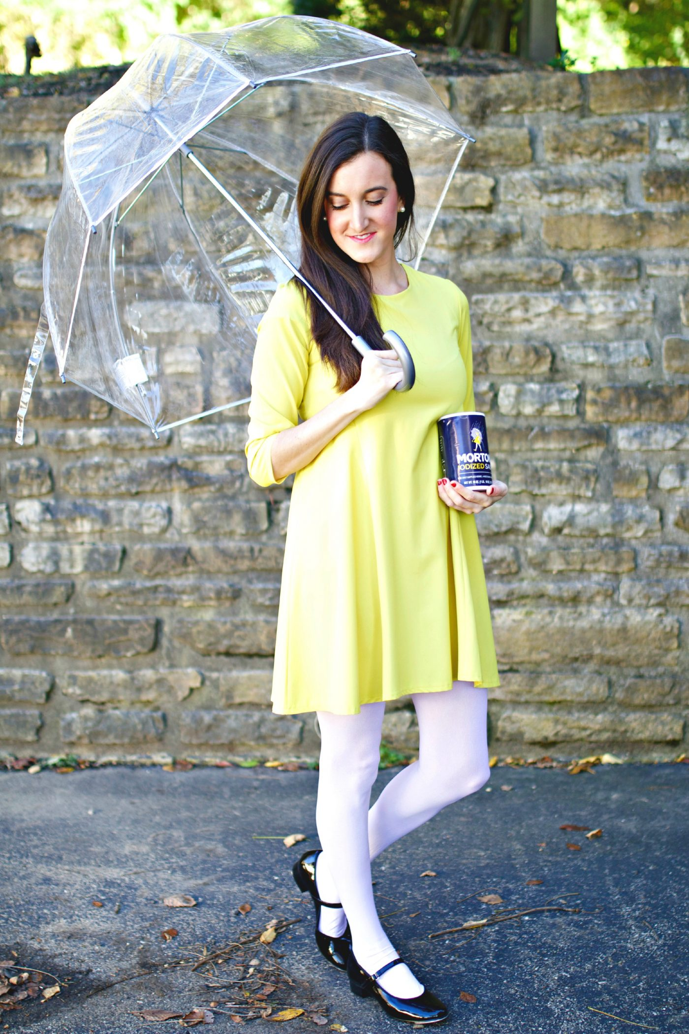 Halloween Costume Idea Morton Salt Girl Baubles To Bubbles