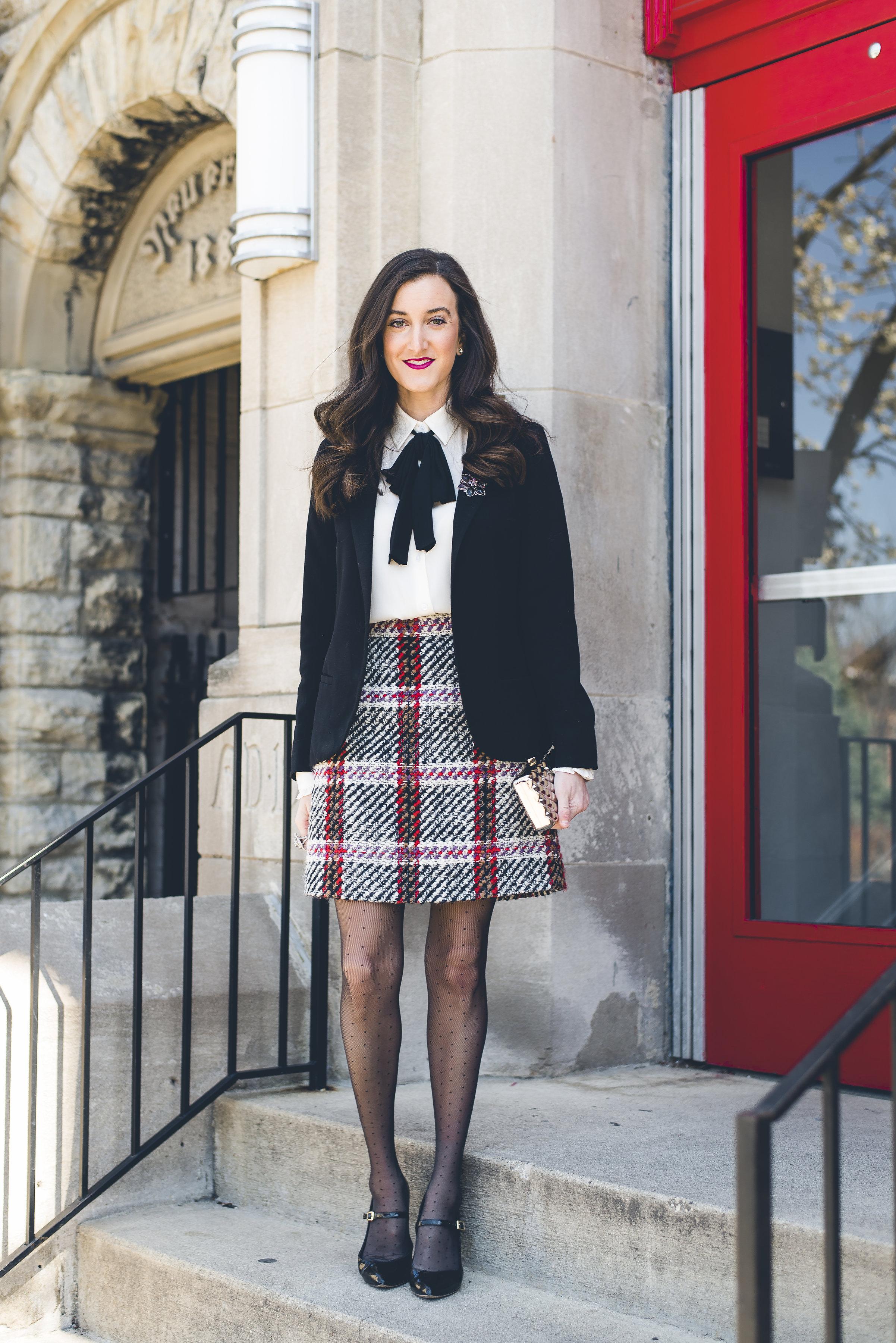 Tartan Plaid Skirt