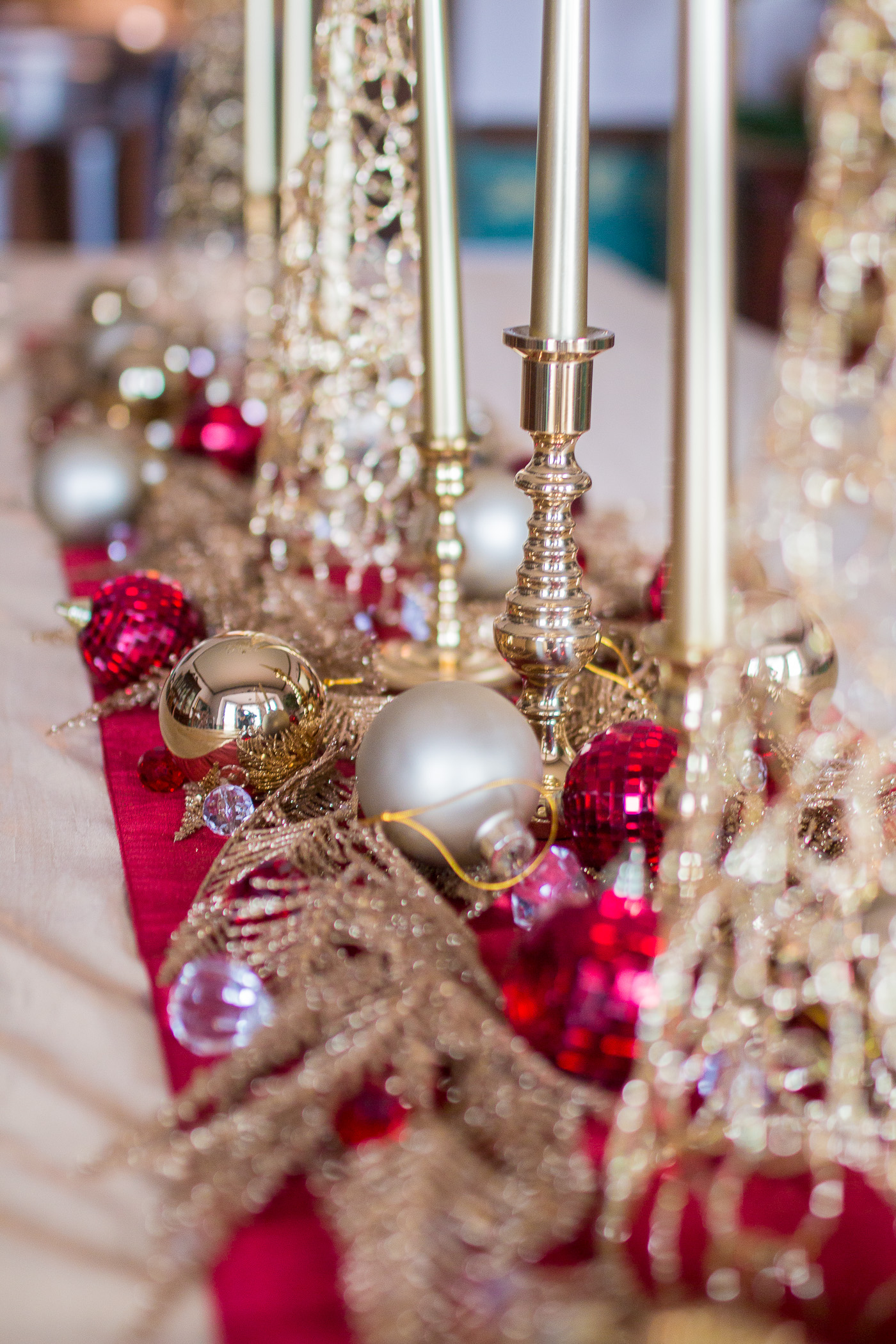 New Year S Eve Decor Christmas Transition Baubles To Bubbles