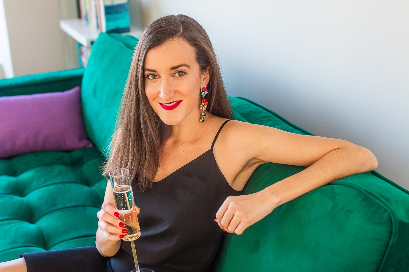 What to wear to a holiday party by fashion blogger Baubles to Bubbles
