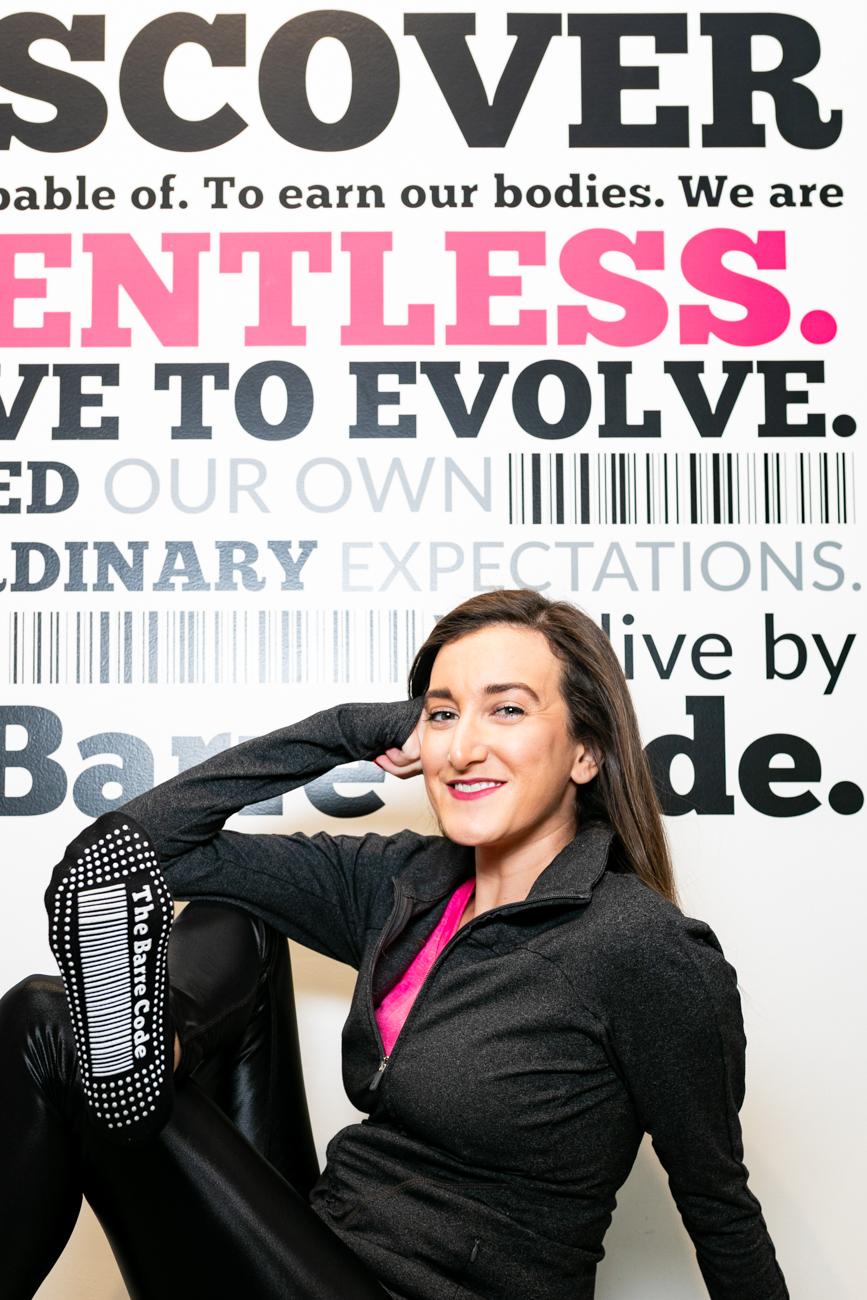 Bare Code Cincinnati Ohio with Blogger Baubles to Bubbles