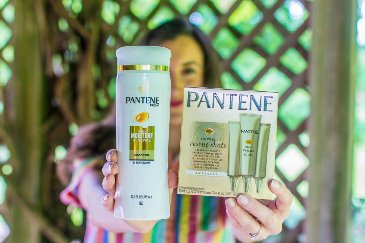 Pantene Shampoo and Rescue Shots