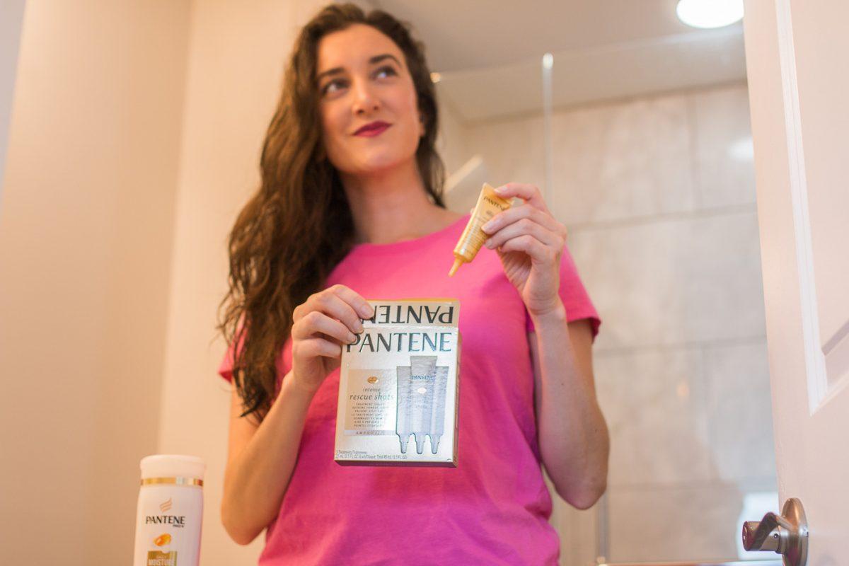 Pantene Rescue Shots Review by Blogger Baubles to Bubbles