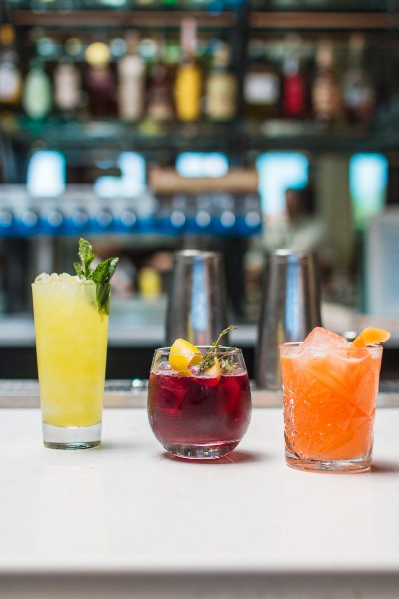 Craft cocktails at Comfort Station in Walnut Hills