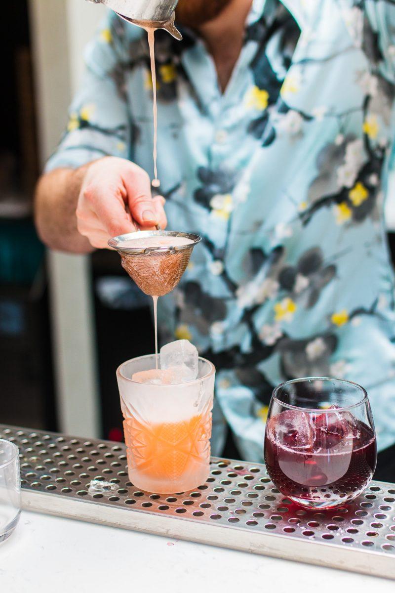 Comfort Station in Cincinnati's Walnut Hills neighborhood features custom made craft cocktails