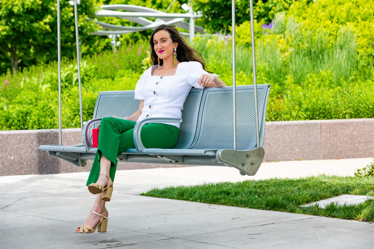 Cincinnati fashion blogger Baubles to Bubbles at Smale Park