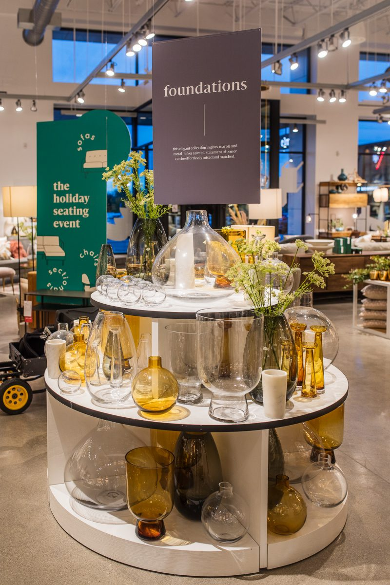 Home Decor at West Elm Cincinnati Ohio located at Rookwood Commons