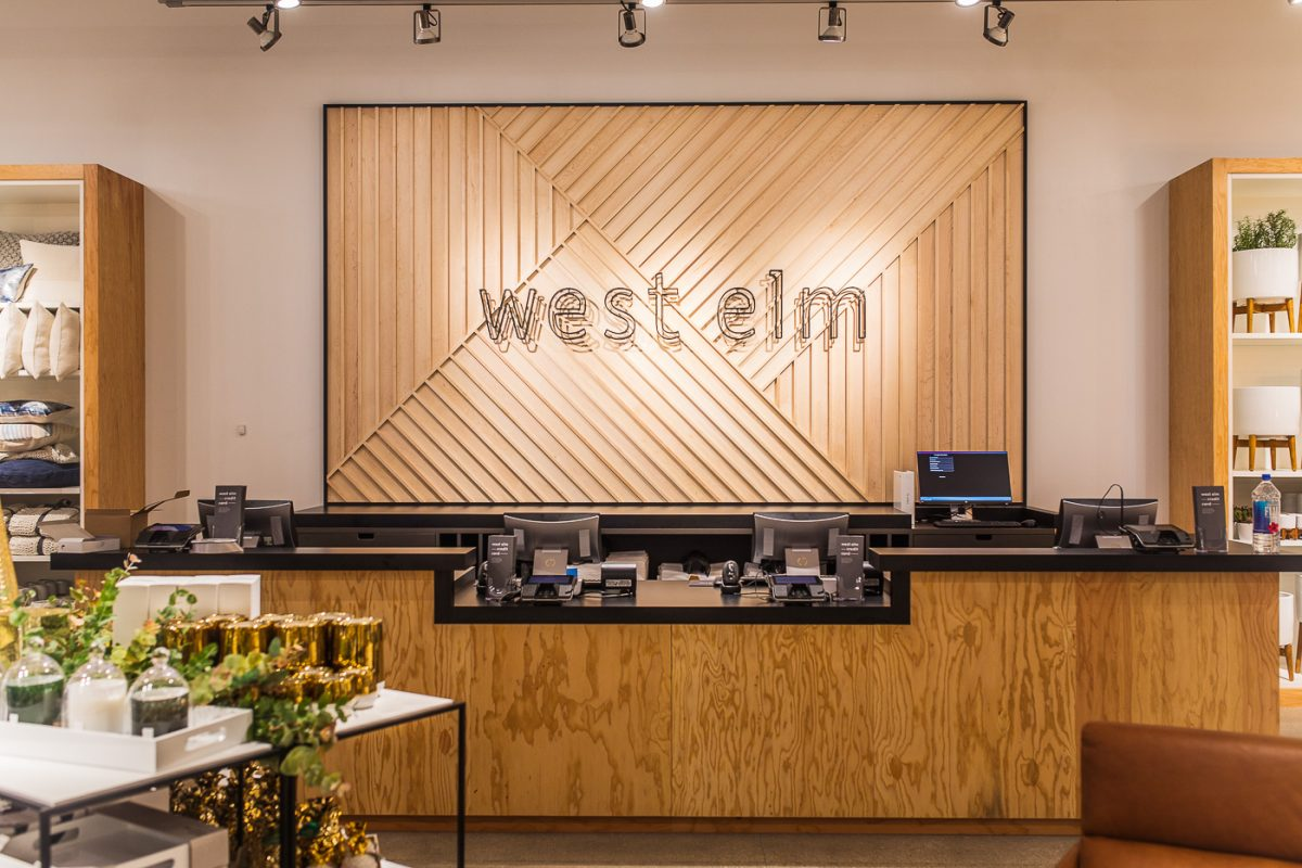 West Elm Cincinnati Ohio located at Rookwood Commons