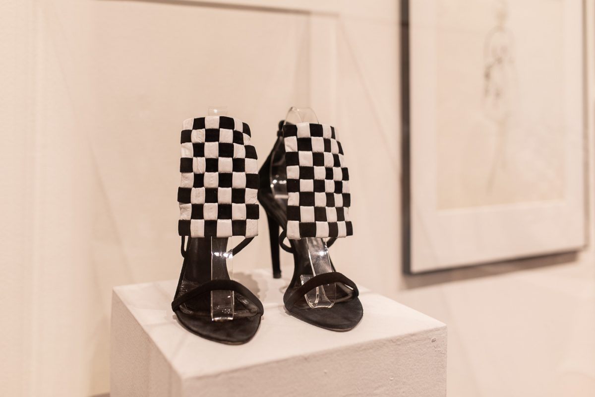 Checkered Shoes at the Decorative Arts Center of Ohio