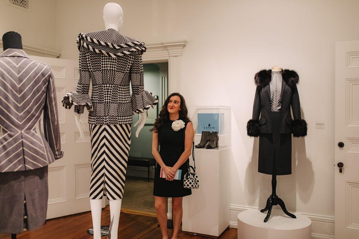 Olivia Johnson at Distinctly Paramount Exhibition