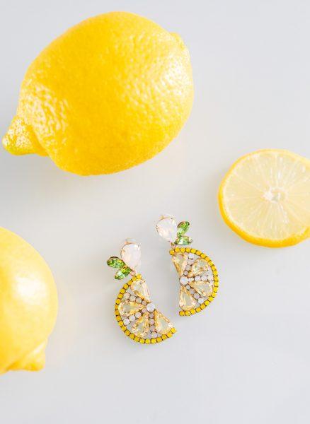 Loren Hope lemon drop earrings