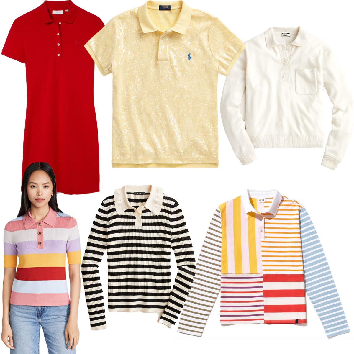 Stylish polos for women